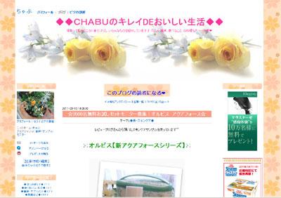 ◆◆CHABUのキレイDEおいしい生活◆◆