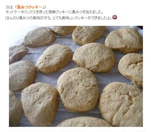 日新製糖さんの「黒みつボトル」で酢豚&クッキーを作りました♪ | Gohanのモラタメ日記